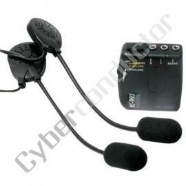 Auricular c/ Microfone p/ Motociclismo IC993(INTERCOM)