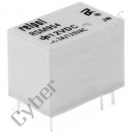 Rele PCB 3VDC/3A 1C DPDT  Relpol