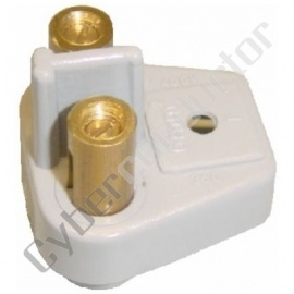 PLACA BORNES 2X6MM2 (108970)