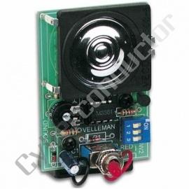 Kit didactico gerador de som tipo sirene - Modelo: MK113